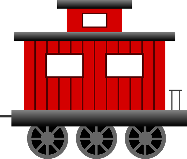 Alfa img - Showing > Train Caboose Cartoon