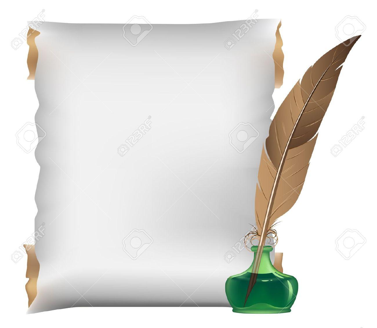 Plume et parchemin pour vos cr as - Laver un oreiller en plume ...