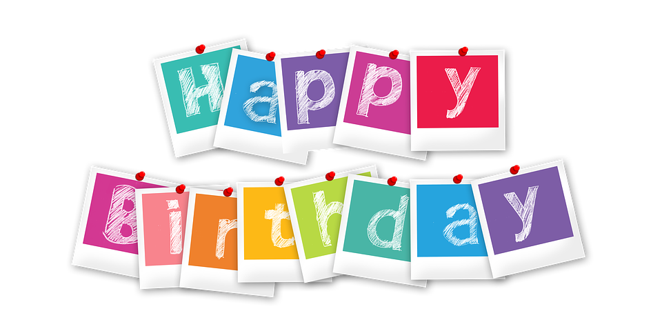 Happy Birthday Card Png ~ Anniversaire